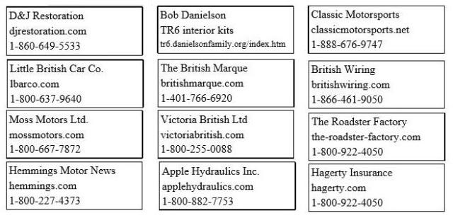 CTR Vendor list 2