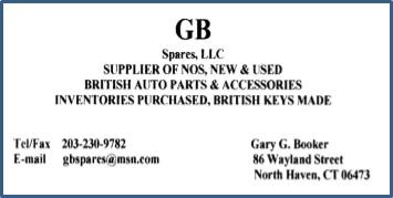 GB Spares card