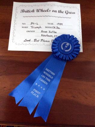 CTR Ann wins with TR3a 1