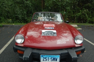 Neville and Susan's '79 Maroon Spitfire