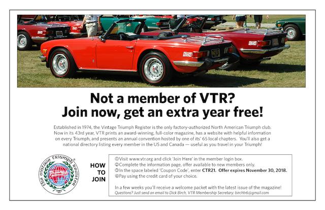 CTR - VTR 2 for 1