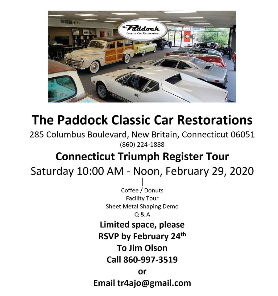 CTR Paddock tour
